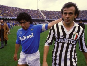 Maradona e Platini