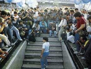 Maradona al San Paolo